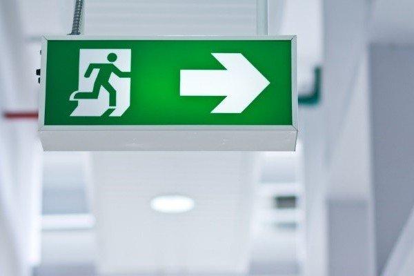 emergency lighting and exit signage fire safe. Black Bedroom Furniture Sets. Home Design Ideas